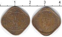 Изображение Монеты Индия 1/2 анны 1944  VF