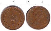 Изображение Монеты Великобритания 1/2 пенни 1971 Медь XF