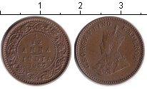 Изображение Монеты Индия 1/12 анны 1927 Медь VF