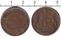Изображение Монеты Индия 1/4 анны 1858 Медь VF Британская Ост-Индск