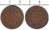 Изображение Монеты Нидерландская Индия 1 цент 1856 Медь VF