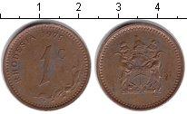 Изображение Монеты Родезия 1 цент 1975  VF