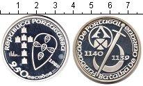 Изображение Монеты Португалия 250 эскудо 1989 Серебро Proof- 850 лет объединению