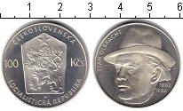 Изображение Монеты Чехословакия 100 крон 1982 Серебро Proof- Иван Олбрахт