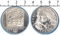 Изображение Монеты Чехословакия 100 крон 1979 Серебро Proof- Ян Ботто