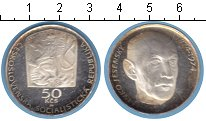 Изображение Монеты Чехословакия 50 крон 1974 Серебро Proof- 100 лет со дня рожде