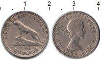 Изображение Монеты Родезия 6 пенсов 1957 Медно-никель XF