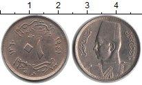 Изображение Монеты Египет 10 миллим 1940 Медно-никель XF