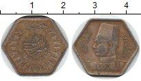 Изображение Монеты Египет 2 пиастра 1944 Серебро VF