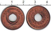 Изображение Монеты Восточная Африка 1 цент 1959 Медь XF Елизавета II