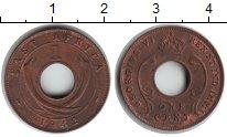 Изображение Монеты Восточная Африка 1 цент 1942 Медь XF Георг VI