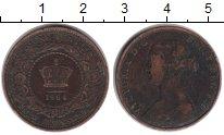 Изображение Монеты Нью-Брансуик 1 цент 1864 Медь VF