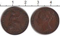 Изображение Монеты Великобритания 1 фартинг 1858 Медь VF