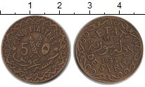 Изображение Монеты Сирия 5 пиастров 1933  XF