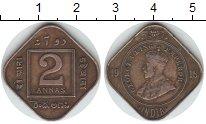Изображение Монеты Индия 2 анны 1918 Медь XF