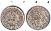 Изображение Монеты Германия 1/2 марки 1919 Серебро UNC-
