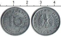 Изображение Монеты Третий Рейх 10 пфеннигов 1947 Цинк XF F