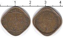 Изображение Монеты Индия 1/12 анны 1944  VF