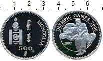 Монета Монголия 500 тугриков Серебро 1997 Proof- фото