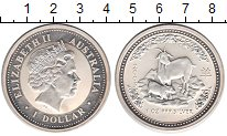 Изображение Монеты Австралия 1 доллар 2003 Серебро XF