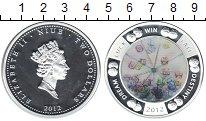 Изображение Монеты Ниуэ 2 доллара 2012 Серебро Proof-