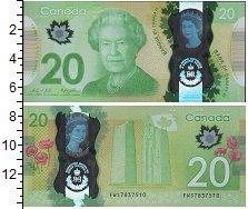 Изображение Боны Канада 20 долларов 0  UNC- Елизавета II