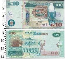 Изображение Боны Замбия 10 квач 2015  UNC-