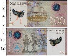 Изображение Боны Никарагуа 200 кордоб 0  UNC-