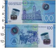 Изображение Банкноты Никарагуа 100 кордоб 0  UNC-