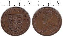 Изображение Монеты Остров Джерси 1/12 шиллинга 1933 Медь VF