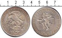 Изображение Монеты Мексика 25 песо 1968 Серебро XF XIX Олимпиада Мехико