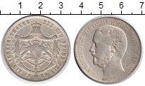 Изображение Монеты Баден 1 талер 1869 Серебро VF