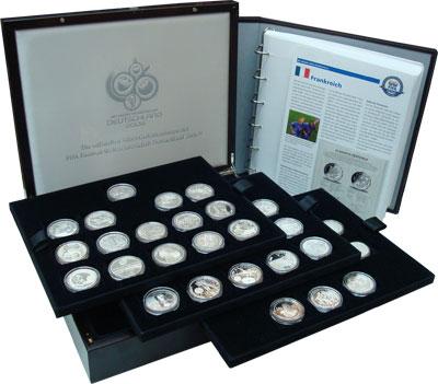 Изображение Подарочные наборы Германия Чемпионат мира в Германии 2006 Серебро Proof