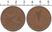 Изображение Мелочь Ирландия 1 пенни 1928 Медь XF Домашняя курица