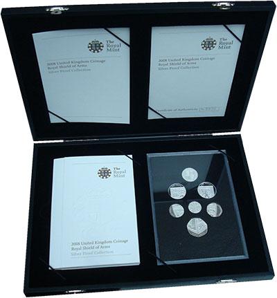 Изображение Подарочные монеты Великобритания Выпуск монет 2008 2008  Proof Подарочный набор мон