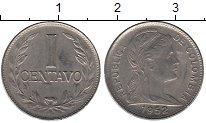 Изображение Мелочь Колумбия 1 сентаво 1952 Медно-никель XF