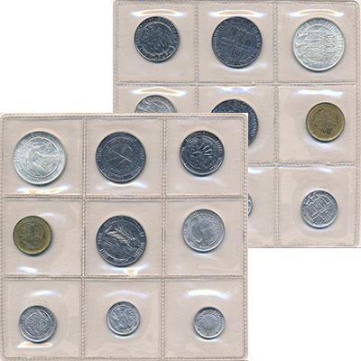 Изображение Наборы монет Сан-Марино Сан-Марино 1977 1977  AUNC Набор состоит из 9 м