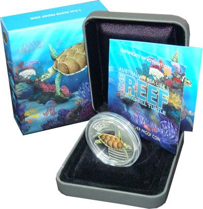 Изображение Подарочные монеты Австралия 50 центов 2011 Серебро Proof Подарочная монета по