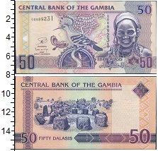 Изображение Банкноты Гамбия 50 даласи 2006  UNC