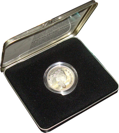 Изображение Подарочные наборы Канада Олимпийские игры 2000 Серебро Proof Подарочная монета по