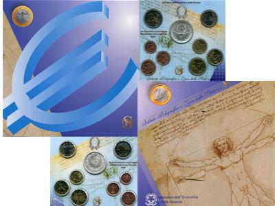 Изображение Подарочные наборы Италия Официальный евровыпуск 2006 года 2006  UNC
