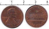 Изображение Мелочь США 1 цент 0 Медь