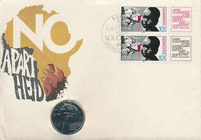 Изображение Подарочные монеты ГДР Анти-партийный год 1978 Медно-никель UNC Подарочная монета ``