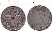Изображение Монеты Великобритания 1 флорин 0 Серебро VF Виктория