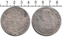 Изображение Монеты Франция 1 экю 1777 Серебро VF Людовик XVI