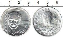 Изображение Монеты Сан-Марино 1000 лир 1996 Серебро UNC- Папство