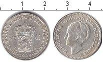 Изображение Монеты Нидерланды 1/2 гульдена 1929 Серебро XF
