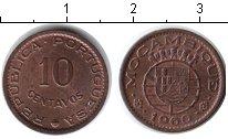 Изображение Монеты Мозамбик 10 сентаво 1960 Медь XF Колония Португалии