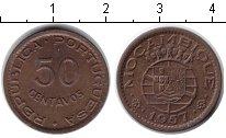 Изображение Монеты Мозамбик 50 сентаво 1957 Медь XF