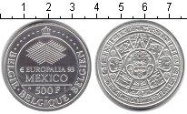 Изображение Монеты Бельгия 500 франков 1993 Посеребрение UNC-